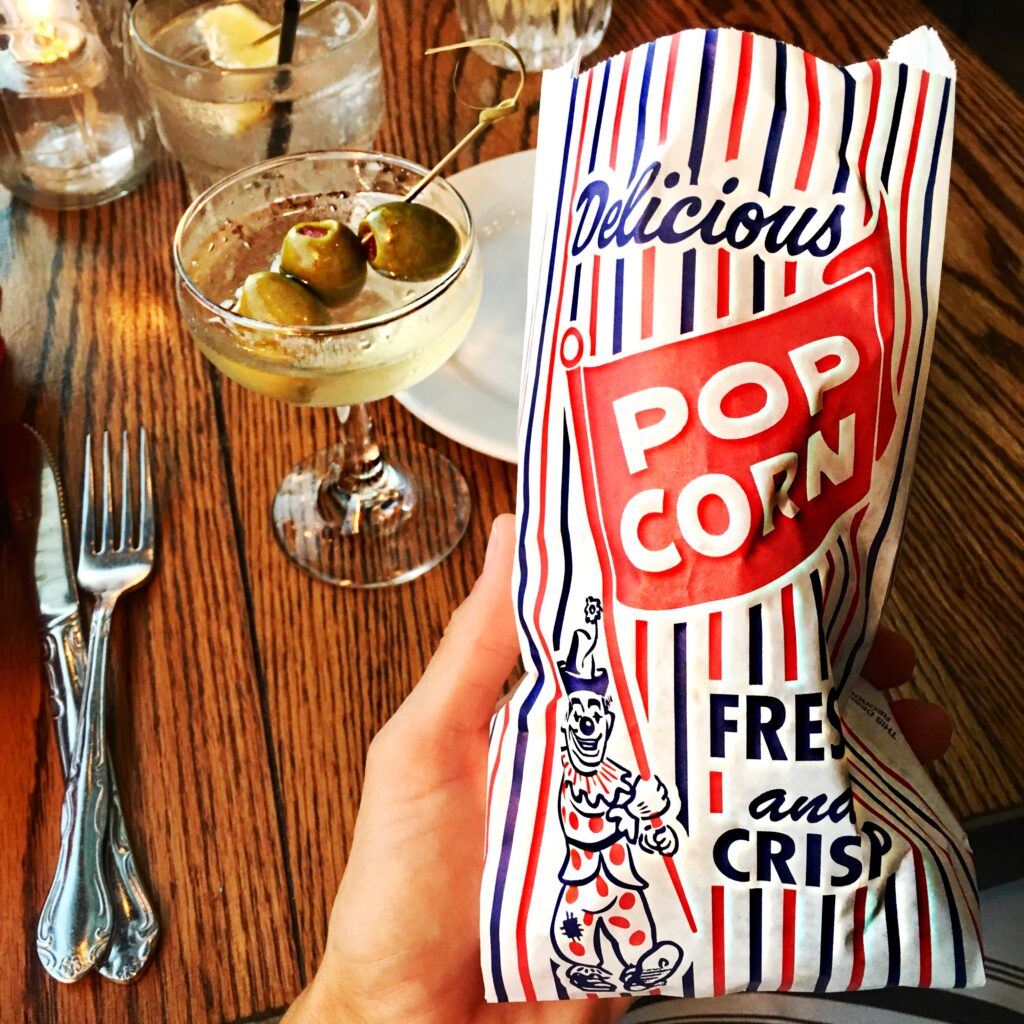 lauren pacheco popcorn at pearls on sunset