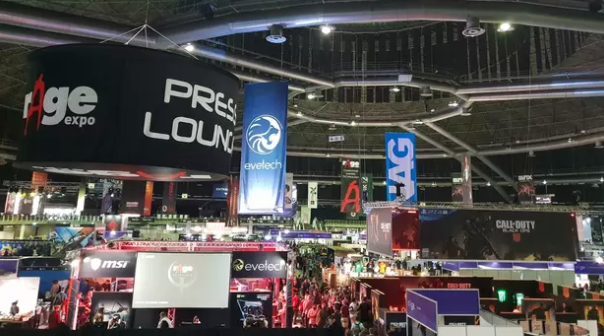 eSports all the rAge at gaming expo