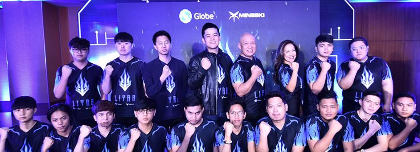 Globe, Mineski unveil professional eSports team