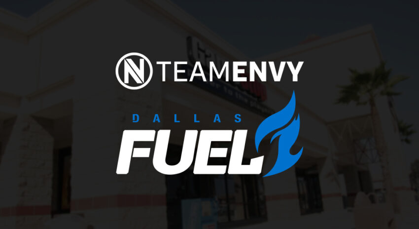 Team Envy and Dallas Fuel partner with GameStop