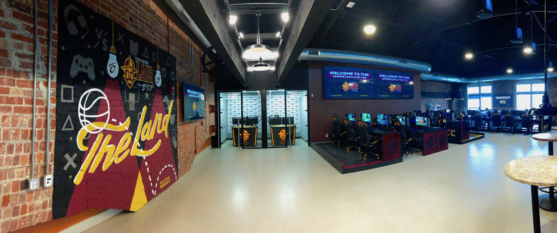 Cavs' esports facility has a new title sponsor, will host Cleveland youth multiple days per week