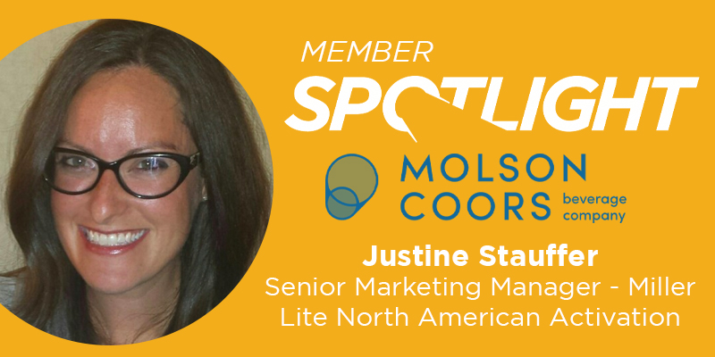 Member Spotlight: Justine Stauffer