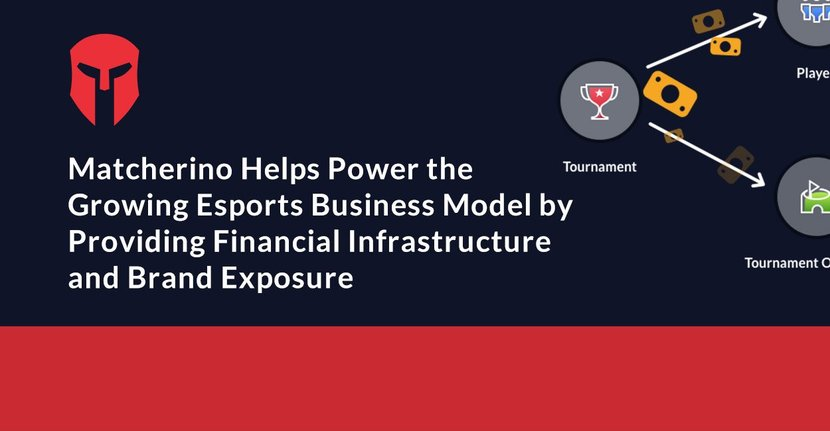 Matcherino Helps Power the Growing Esports Business Model by Providing Financial Infrastructure and Brand Exposure