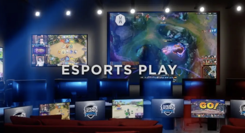 A Las Vegas apartment complex added an esports lounge as an amenity and says its the first of its kind in the US — see inside