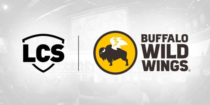 Buffalo Wild Wings is now the official sports bar for the LCS and LCS Academy