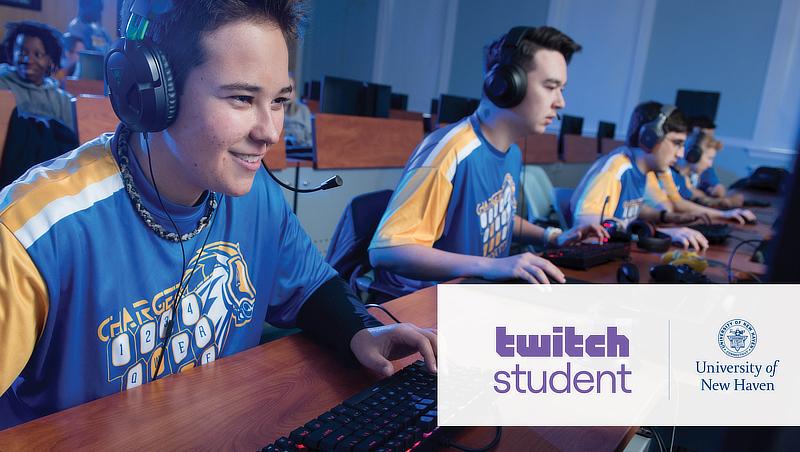 University's Esports & Gaming Program Announces Academic Partnership with Twitch