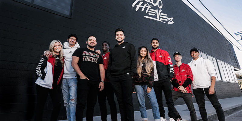 100 Thieves sign with Creative Artists Agency (CAA)