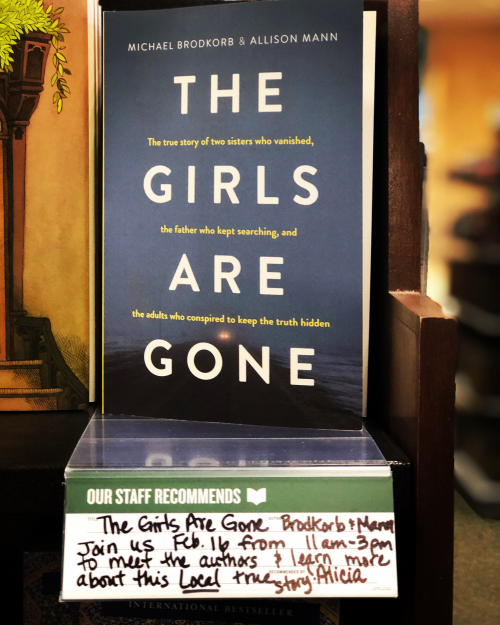 Book event on Saturday at Barnes & Noble in Eden Prairie