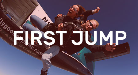 first jump