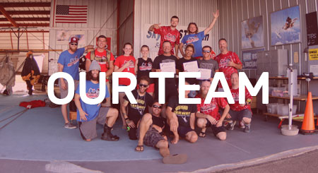 Skydiving - our team