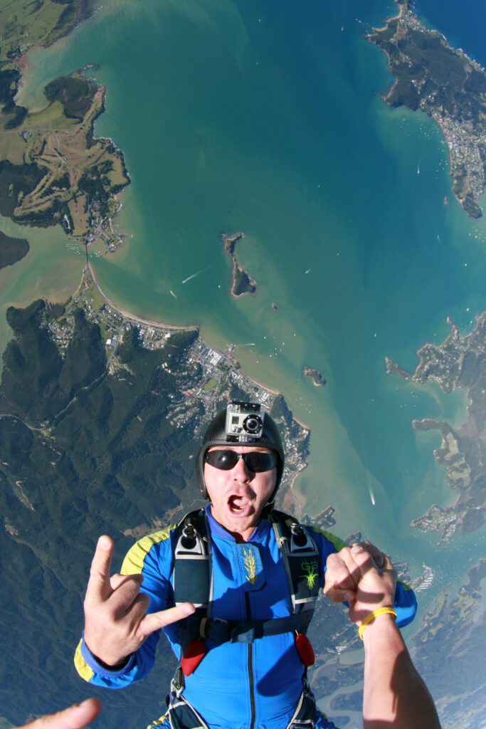 What is skydiving