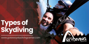 Types of skydiving