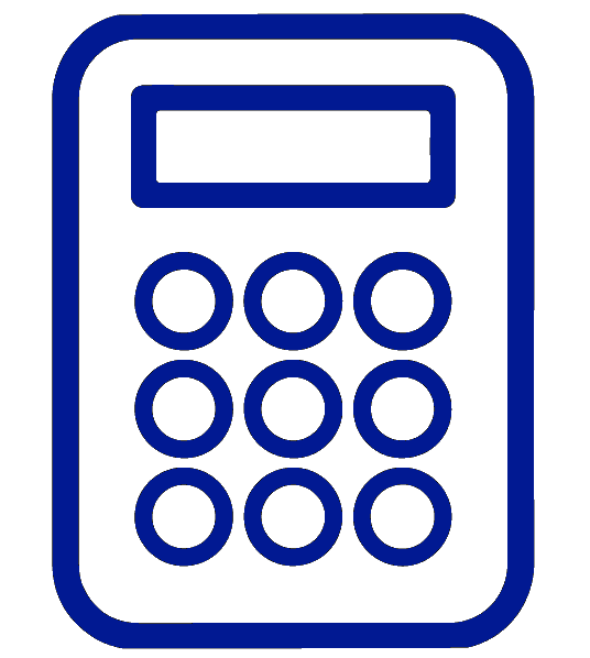 A calculator necessary for debt consolidation under chapter 13 bankruptcy