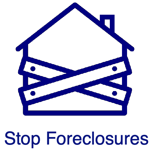 Stop a foreclosure by filing chapter 13 bankruptcy
