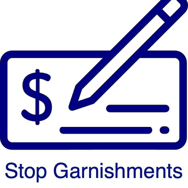 Stop a garnishment