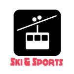 Gondola Ski Tahoe Square Logo