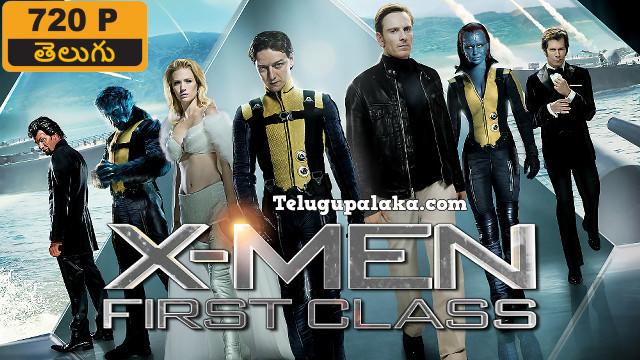 X-Men First Class (2011) Telugu Dubbed Movie