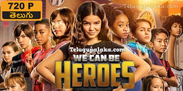 We Can Be Heroes (2020) Telugu Dubbed Movie