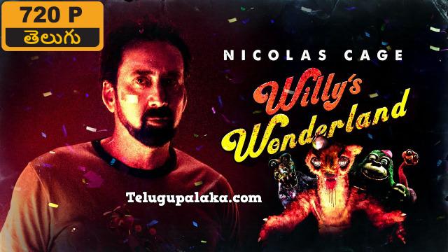 Willy's Wonderland (2021) Telugu Dubbed Movie
