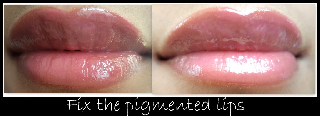 How to apply lipstick on pigmented lips