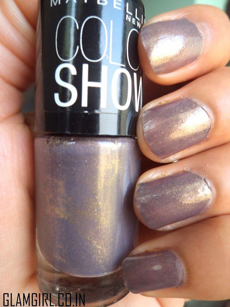 maybelline color show buried treasure