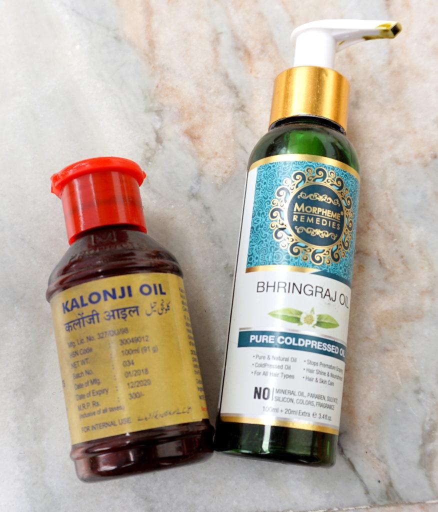 Kalonji hair oil, Best brahmi hair oil
