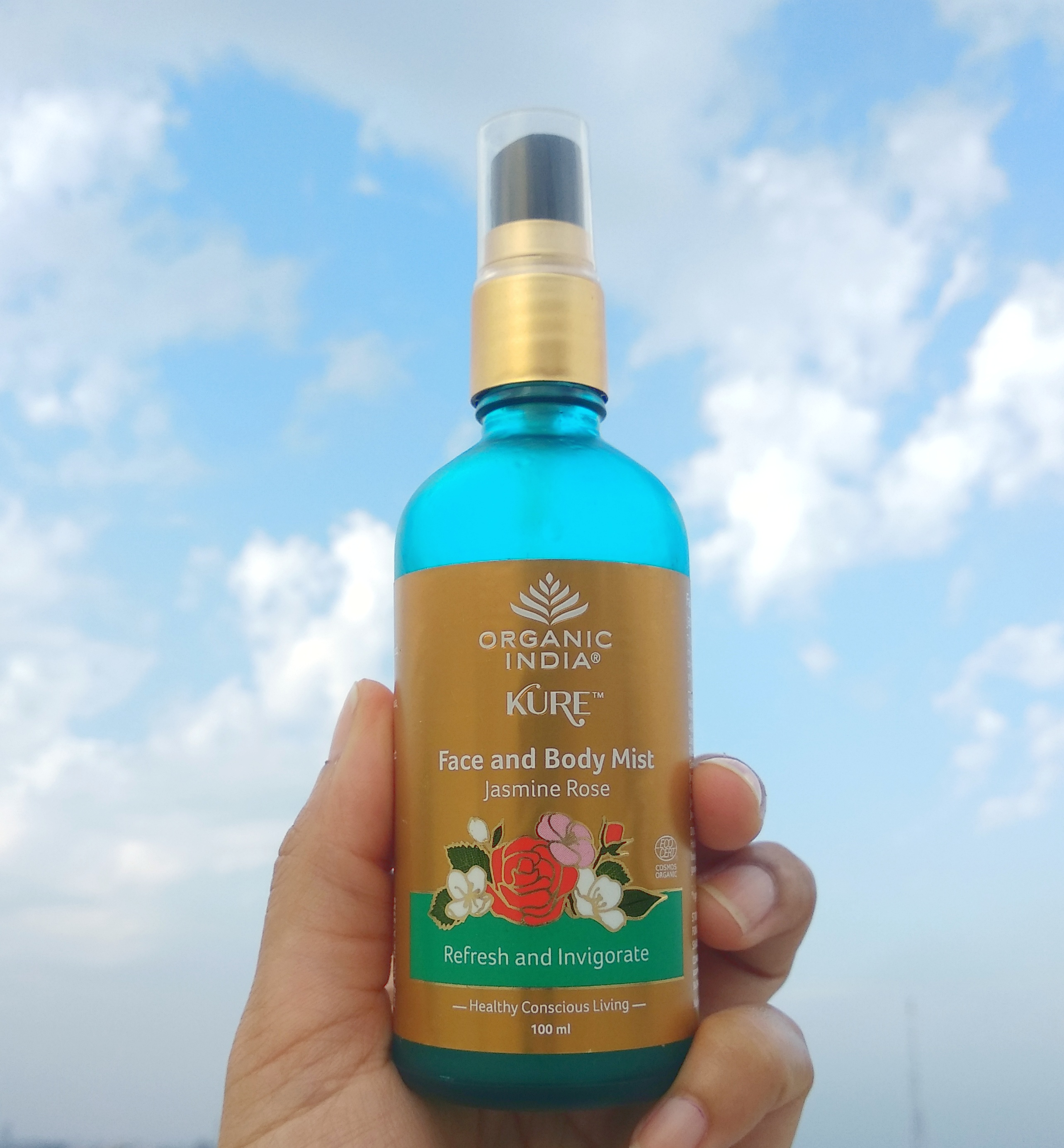 Organic-india-jasmine-and-rose-face-and-body-mist-review