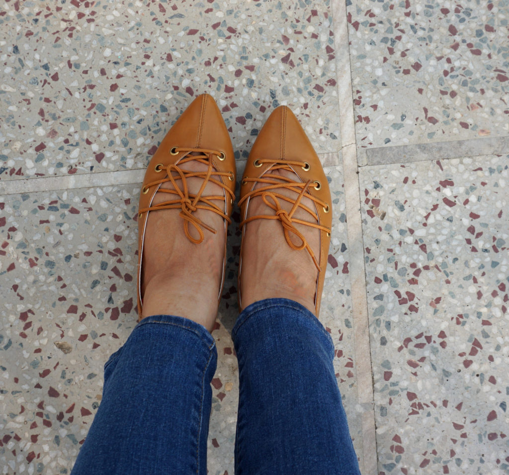shoes with skinny jeans - loafers and flats