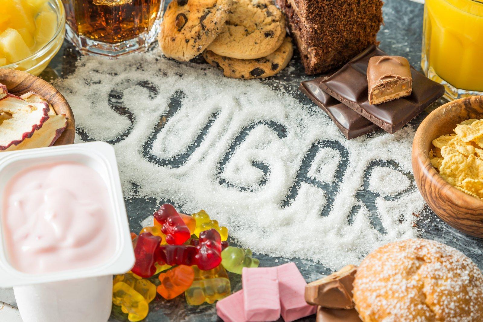 Sweets, sugar, weight loss, health, insulin, stress