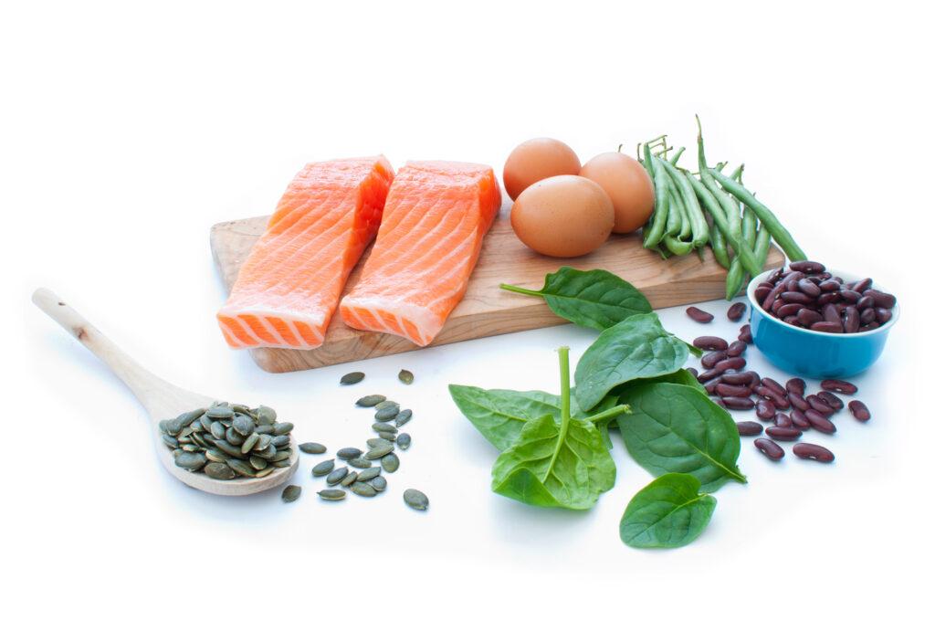 Diet, protein, PCOS, infertility, acne