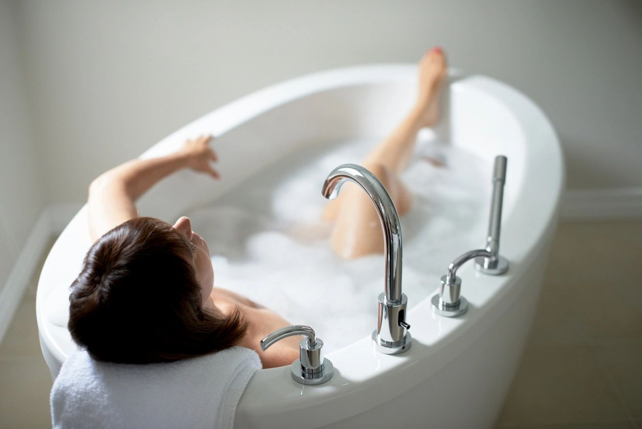 Bath tub, postpartum, sitz, magnesium, epsom