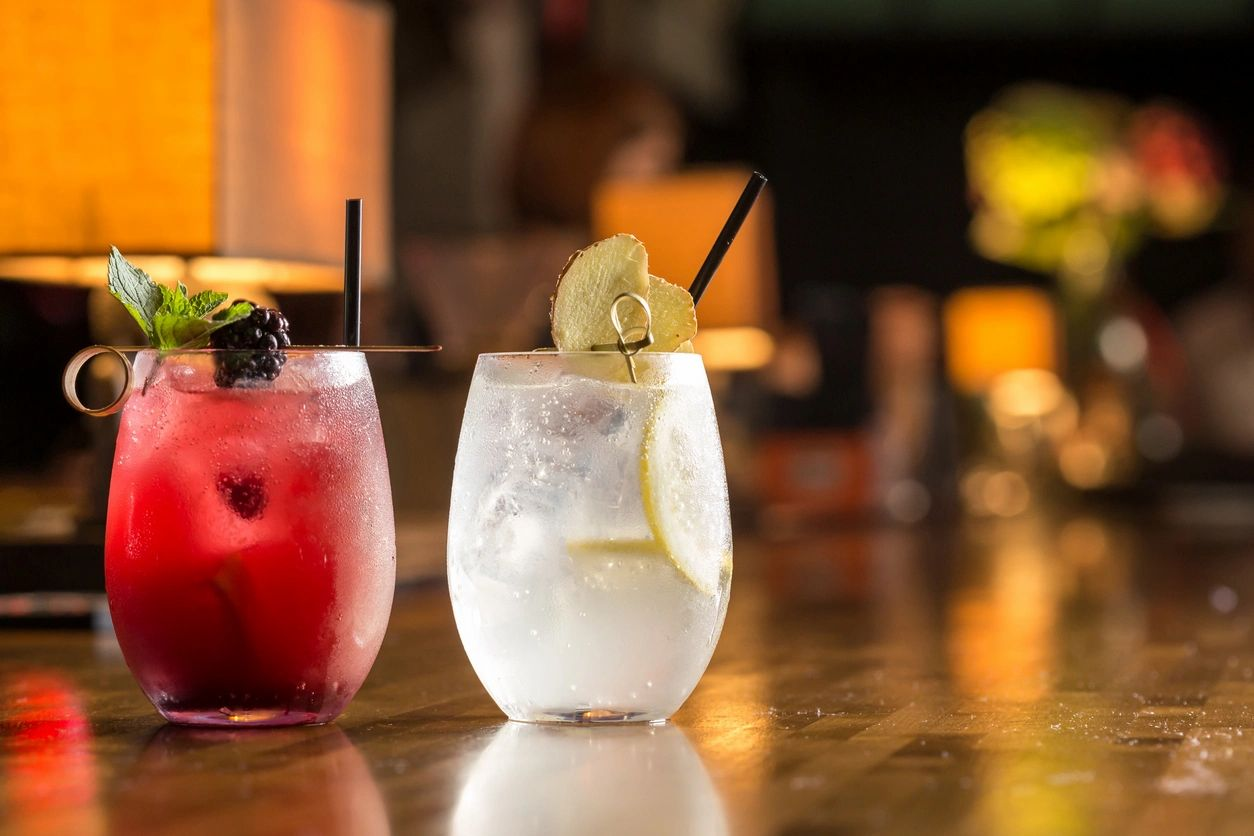 skinny rosemary vodka, drink, beverage, healthy, low-sugar