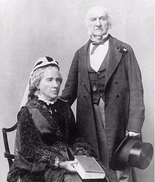 Catherine and William Gladstone in later life