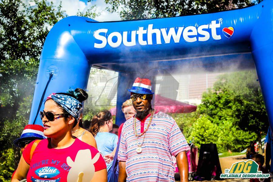 Southwest Inflatable Misting Station