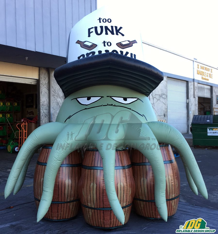 inflatable cartoon characters