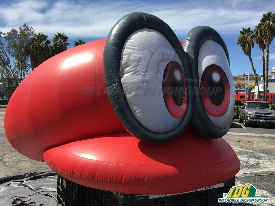 inflatable video game characters
