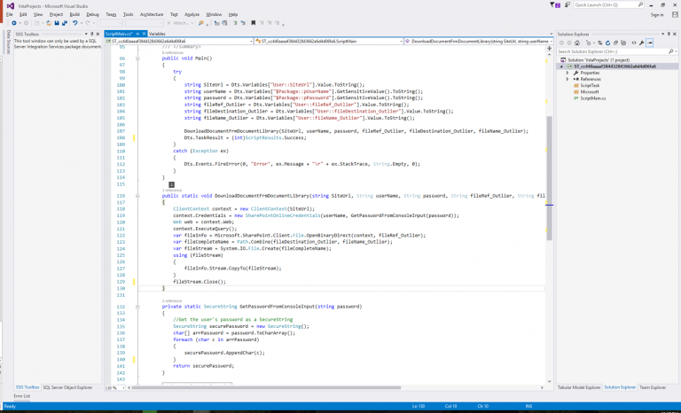 SSIS Access Code