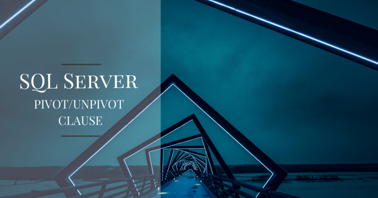 SQL Server - PIVOT Clause