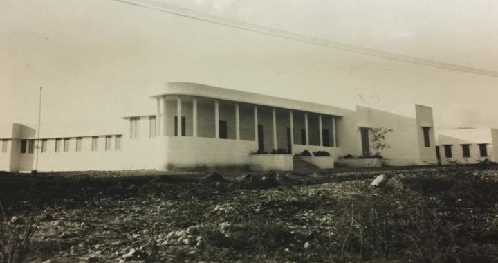 HOSPITAL JAIME MOTA CONSTRUIDO EN 1949