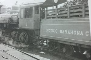 Locomotora Número 7, Ingenio Barahona