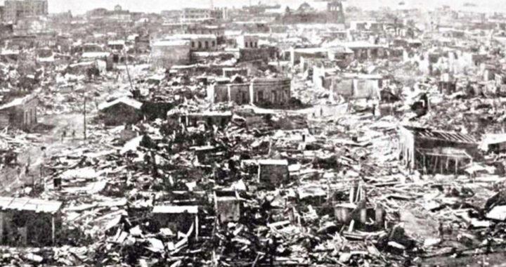 Dos duvergenses se enteraron en la capital en la víspera, de la posible llegada del disturbio que fue el huracán San Zenón