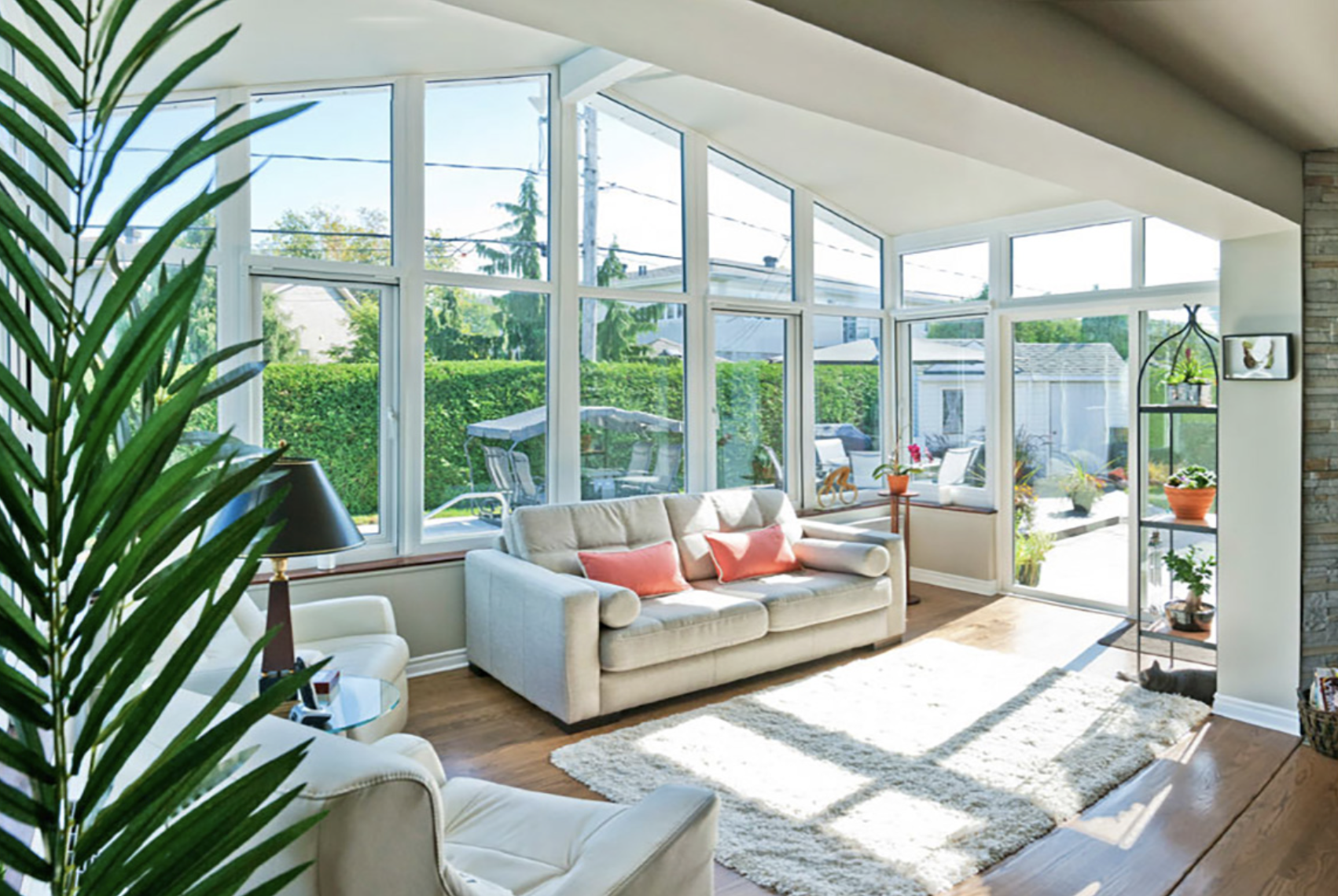 Four Season Sunroom as part of the home