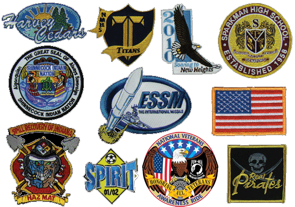 patches and emblems