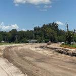 New Caruso Road alignment