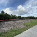 Future site of the stormwater retention pond near Creekwood Park