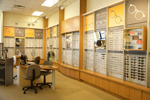 Optical shop or vision clinic in Broken Arrow with large frame selection.