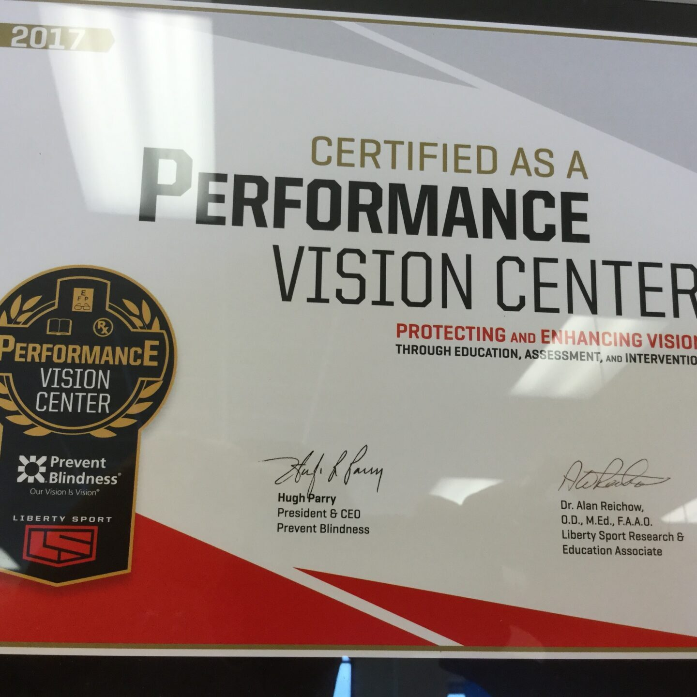 sports vision center in broken arrow