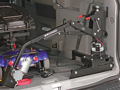 How To Choose The Best Wheelchair Or Scooter Lift For Your Vehicle