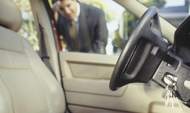 Left Keys In Car