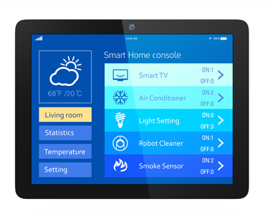 smart-home-console